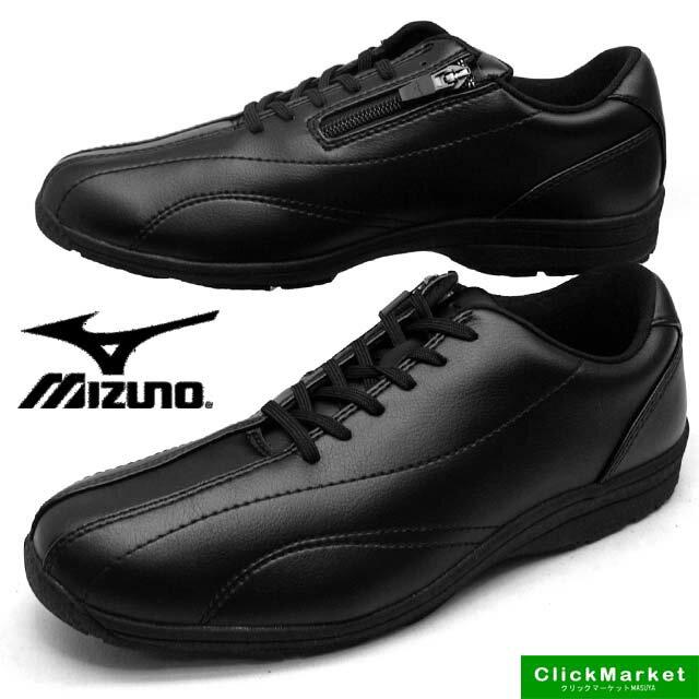 ミズノ MIZUNO LS400 ウォーキング カジュアル 153009 黒 4E メンズ