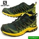 <送料無料>サロモン SALOMON XA PRO 3D GTX 398526 緑黄 ゴアテックス トレッキング 防水 登山 メンズ 【RCP】