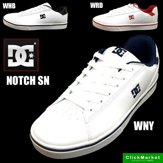 ディーシーシューズ DC Shoe NOTCH SN DM181035 ノッチ WHB WNY WRD スニーカー メンズ