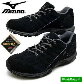 ミズノ MIZUNO WAVE ADVENTURE GT ウォーキング カジュアル ゴアテックス 5KF-38009 黒 3E メンズ