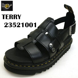 ドクターマーチン Dr.Martens TERRY 23521001 テリー 黒 ストラップサンダル レディース/メンズ