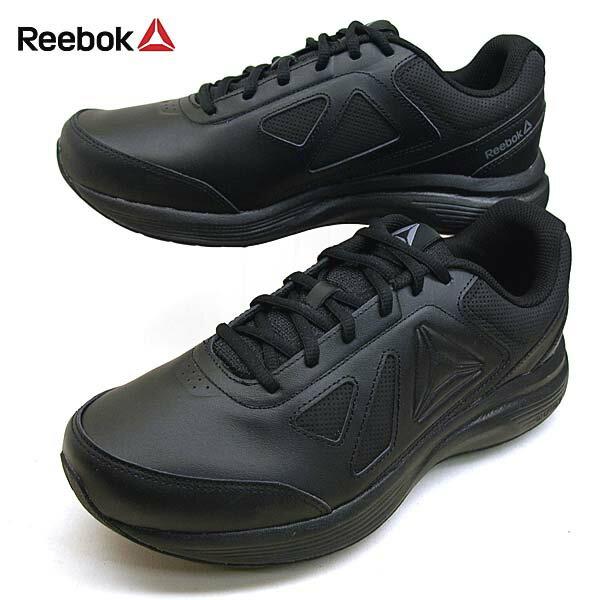 リーボック Reebok WALK ULT6 DMX MAX 4E BS9540 ウォーク ウルトラ 6 ウォーキングシューズ 黒 メンズ