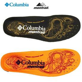 コロンビア モントレイル Columbia montrail ENDURO SOLE BU4573 4574 エンデュロソール 熱成型 インソール 中敷き レディース/メンズ
