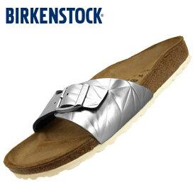 ビルケンシュトック BIRKENSTOCK Classic Madrid BS 1008454 マドリッド 銀 サンダル レディース
