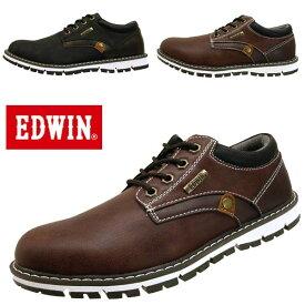 エドウィン EDWIN カジュアルシューズ EDW-7920 防水設計 メンズ