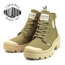パラディウム PALLADIUM PALLABASE TWILL パラベース ツイル 96907-204 ベージュ キャンバスシューズ スニーカー レディース