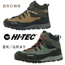ハイテック HI-TEC AORAKI MID WP トレッキングシューズ 登山靴 HT HKU10 防水 軽量 抗菌防臭 レディース/メンズ