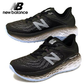 【47%OFF】 ニューバランス New Balance W MORE BK2 厚底モア マラソン ランニング スニーカー 黒 レディース