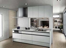 LIXILリシェルSI PLAN4セミオープン対面キッチン\3,366,000-(税込)プランの1例です。お客様からのPLUN・お見積もり・お問い合わせ お待ちしております。