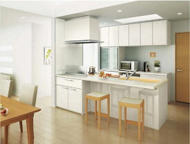 LIXILリシェルSI PLAN18オープン対面キッチン\2,211,000-(税込)プランの1例です。 お客様からのPLUN・お見積もり・お問い合わせ お待ちしております。