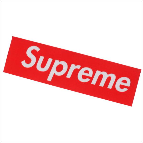 SUPREME(シュプリーム) Flockin' Box Logo Sticker (ステッカー) RED 290-004233-113+【新品】 (グッズ)