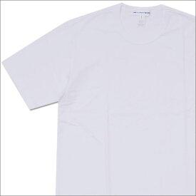 COMME des GARCONS SHIRT コムデギャルソン シャツ Hem Logo Print Tee Tシャツ WHITE 200007510060x【新品】 半袖Tシャツ