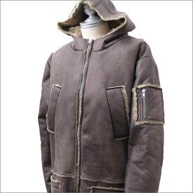 GOSHA RUBCHINSKIY ゴーシャ・ラブチンスキー Hooded Sheepskin Coat コート BEIGE 420000064046+【新品】 OUTER