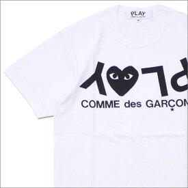 PLAY COMME des GARCONS プレイ コムデギャルソン MENS PLAY HEART LOGO TEE Tシャツ WHITE 200007757030x【新品】 半袖Tシャツ