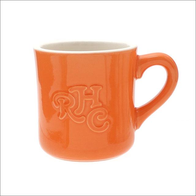 [次回のお買い物で使える500円OFFクーポン配布中!! 4/30(火)まで!!] ロンハーマン RHC Ron Herman Emboss Logo Mug マグカップ ORANGE 290004686018+【新品】 グッズ
