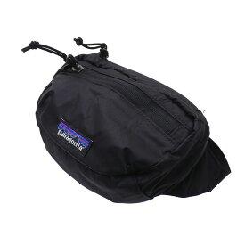 パタゴニア Patagonia Lightweight Travel Mini Hip Pack ウエストバッグ ヒップパック パッカブル BLACK ブラック 黒 メンズ レディース 【新品】 49446 289000046011 グッズ