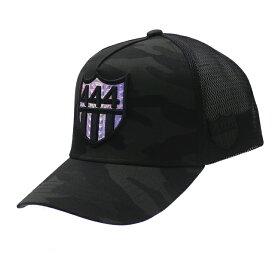 新品 ヨシノリコタケ YOSHINORI KOTAKE x バーニーズ ニューヨーク BARNEYS NEWYORK HOLOGRAM 444 LOGO MESH CAP キャップ BLACK ブラック 黒 メンズ 新作 ヘッドウェア