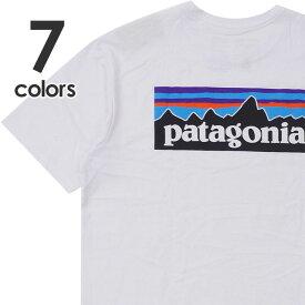 新品 パタゴニア Patagonia 2020SS M's P-6 Logo Responsibili Tee ロゴ レスポンシビリ Tシャツ REGULAR FIT レギュラーフィット 38504 メンズ レディース 新作 20SS 新作 半袖Tシャツ