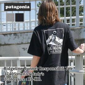 新品 パタゴニア Patagonia 21SS M's Ridgeline Runner Responsibili Tee リッジライン ランナー レスポンシビリ Tシャツ 37405 メンズ レディース 2021SS 新作 半袖Tシャツ 39ショップ