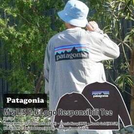 新品 パタゴニア Patagonia 21FW M's L/S P-6 Logo Responsibili Tee レスポンシビリ ロング 長袖Tシャツ 38518 メンズ レディース 2021FW 2021AW 21AW 21FA 新作 TOPS 39ショップ