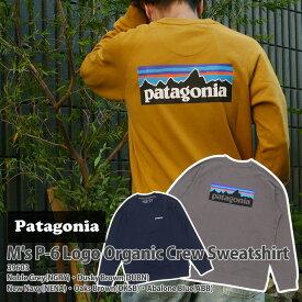 新品 パタゴニア Patagonia 21FW M's P-6 Logo Organic Crew Sweatshirt P-6ロゴ ロゴ オーガニック クルー スウェットシャツ 39603 メンズ レディース 2021FW 2021AW 21AW 21FA 新作 アウトドア キャンプ SWT/HOODY 39ショップ