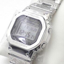 カシオ CASIO G-SHOCK ジーショック GMW-B5000 D-1JF SILVER シルバー 銀 メンズ FREEサイズ 【新古品/未使用】 187000181012 (グッズ)