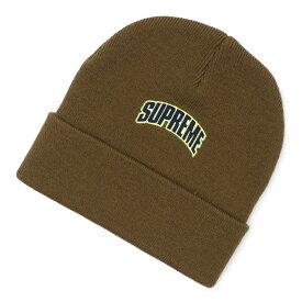 シュプリーム Supreme 18FW Crown Logo Beanie ビーニー OLIVE オリーブ メンズ レディース FREEサイズ 【中古】 2018FW 153001057015 (ヘッドウェア)