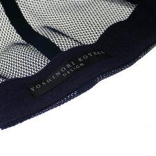 YOSHINORIKOTAKE(ヨシノリコタケ)xBEAMSGOLF(ビームスゴルフ)BLOGOMESHCAP(キャップ)NAVY251-001282-017x【新品】