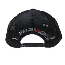 YOSHINORIKOTAKE(ヨシノリコタケ)xPalms&co.xeditofKIWIMESHCAP(キャップ)BLACK251-001279-011x【新品】