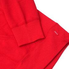 SUPREME(シュプリーム)PerforatedLeatherHoodedSweatshirt(スウェットパーカー)RED418-000417-043+【新品】