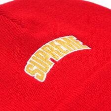 SUPREME(シュプリーム)CrownLogoBeanie(ビーニー)RED418-000407-013+【新品】