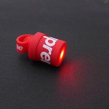 SUPREME(シュプリーム)LucettaMagneticBikeLights(マグネットライト)RED290-004806-013+【新品】