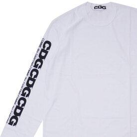 シーディージー CDG コムデギャルソン COMME des GARCONS CDG LS TEE 長袖Tシャツ WHITE ホワイト 白 メンズ 【新品】 202000967060