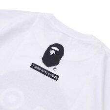 エイプABATHINGAPE18AWBABYMILOBYSKATETHINGTEETシャツWHITEホワイト白メンズ【新品】2018AW200008023240