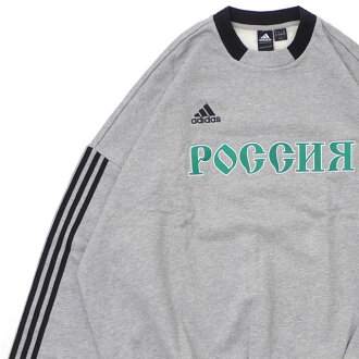 wholesale dealer 1646c 0fb0f ゴーシャ love Japanese spaniel ski GOSHA RUBCHINSKIY x Adidas adidas SWEAT TOP  sweat shirt GRAY gray gray men 420000193052