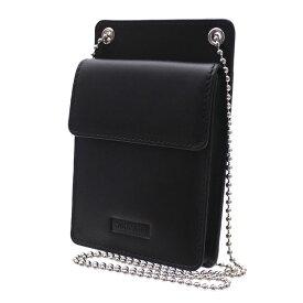 シュプリーム SUPREME Leather ID Holder + Wallet ウォレット 財布 BLACK ブラック 黒 メンズ 【新品】 271000391111