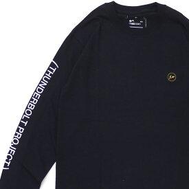 ザ・コンビニ THE CONVENI x フラグメントデザイン Fragment Design x ポケモン POKEMON TBP LOGO A LS TEE 長袖Tシャツ BLACK 【新品】 202001029031