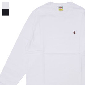 エイプ A BATHING APE 19SS APE HEAD ONE POINT L/S TEE 長袖Tシャツ メンズ 【新品】 2019SS 1F30111012 202001043050