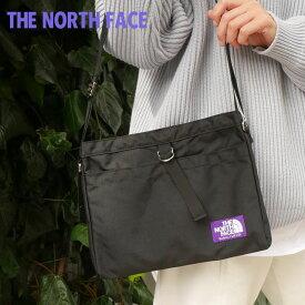 ザ・ノースフェイス パープルレーベル THE NORTH FACE PURPLE LABEL Small Shoulder Bag ショルダーバッグ BLACK ブラック メンズ 【新品】 NN7757N 275000185011