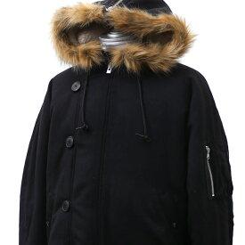 シュプリーム SUPREME Wool N-2B Jacket ジャケット BLACK ブラック 黒 メンズ 【新品】 418000637041