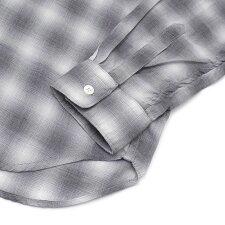 ロンハーマンRonHermanCheckL/SShirt長袖シャツBLACKブラック黒メンズ【新品】216001587031