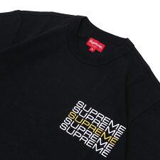 シュプリームSUPREME19SSStackLogoTeeTシャツBLACKブラック黒メンズ【新品】2019SS203000312041