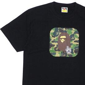 エイプ A BATHING APE BAPE ONLINE ABC TEE Tシャツ BLACK ブラック 黒 メンズ 【新品】 1F25110045 200008111051
