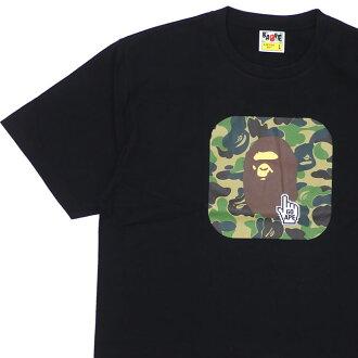 aaf37b59 エイプ A BATHING APE 19SS BAPE ONLINE ABC TEE T-shirt BLACK black black men