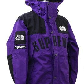 新品 シュプリーム SUPREME x ザ ノースフェイス THE NORTH FACE Arc Logo Mountain Parka マウンテン パーカー Jacket ジャケット PURPLE 225000408149