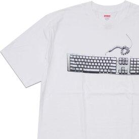 新品 シュプリーム SUPREME 19SS Keyboard Tee Tシャツ WHITE ホワイト 白 メンズ 新作 2019SS 200008143050