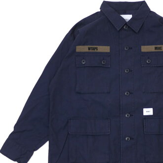 신품 다브르탑스 WTAPS 19 SS JUNGLE LS 01 SHIRT 정글 긴소매 셔츠 NAVY 네이비 맨즈 신작 2019 SS 191 WVDT-SHM01 116002973047 116002987067 (W) TAPS