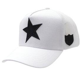 【14:00までのご注文で即日発送可能】 新品 ヨシノリコタケ YOSHINORI KOTAKE x バーニーズ ニューヨーク BARNEYS NEWYORK STAR SPANGLE MESH CAP キャップ WHITE メンズ 新作 251001351010