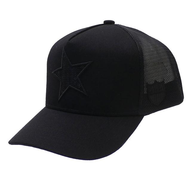 [次回のお買い物で使える500円OFFクーポン配布中!! 4/30(火)まで!!] 新品 ヨシノリコタケ YOSHINORI KOTAKE x バーニーズ ニューヨーク BARNEYS NEWYORK STAR SPANGLE MESH CAP キャップ BLACK メンズ 新作 251001352011