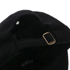 新品ノアNOAH19SSTerry6-PanelCapキャップBLACKブラック黒メンズ新作2019SS265001180011